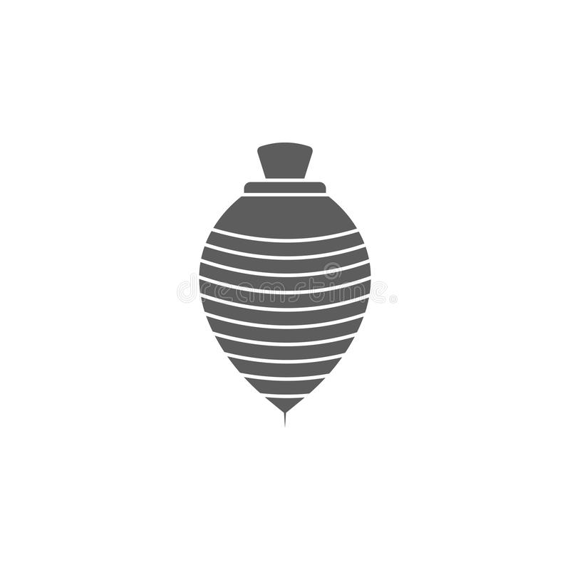 ícone do yule Elemento dos brinquedos para apps móveis do conceito e da Web Ícone para o projeto do Web site e o desenvolvimento, ilustração do vetor