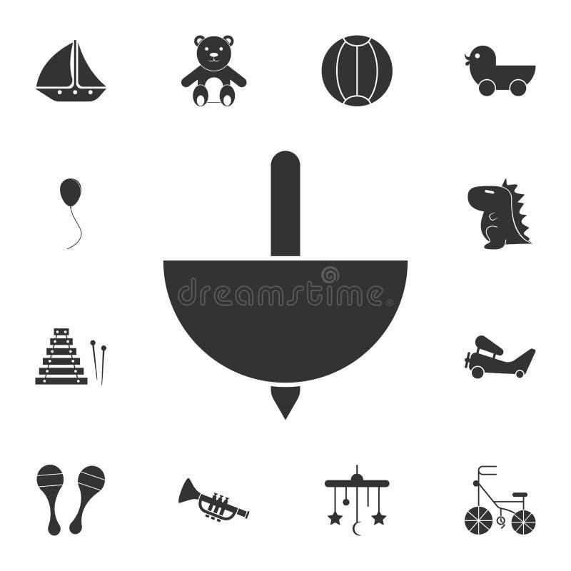 ícone do yule Grupo detalhado de ícone dos brinquedos Projeto gráfico superior Um dos ícones da coleção para Web site, design web ilustração royalty free