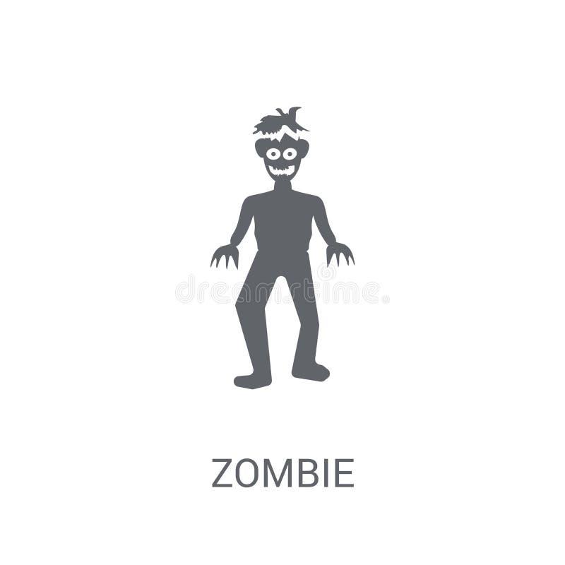 Ícone do zombi  ilustração stock