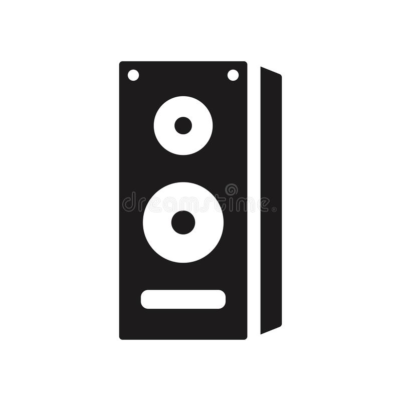 ícone dos altifalante  ilustração stock