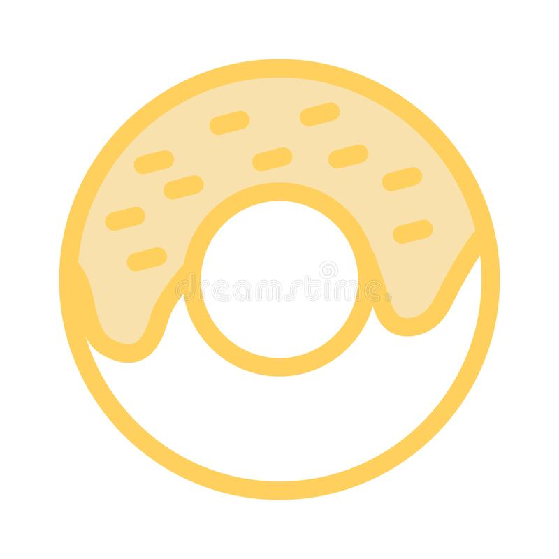 Ícone dos anéis de espuma ilustração royalty free