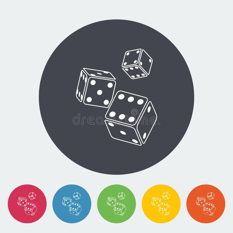 Ícone dos excrementos ilustração do vetor