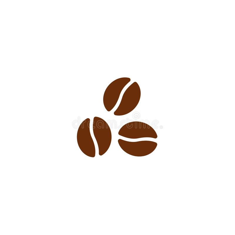 Ícone 13 dos feijões de café ilustração do vetor