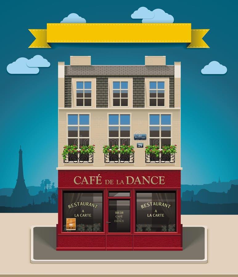 Ícone europeu do café XXL do vetor ilustração royalty free