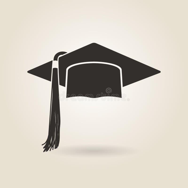 Ícone graduado do tampão ilustração do vetor