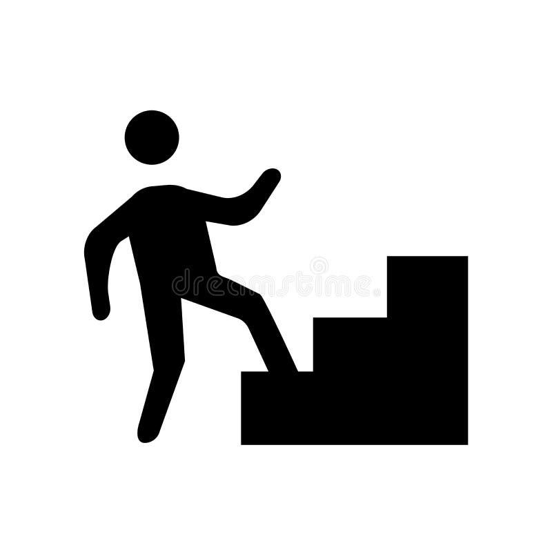 ícone humano blá Conceito humano blá na moda do logotipo no backgro branco ilustração royalty free