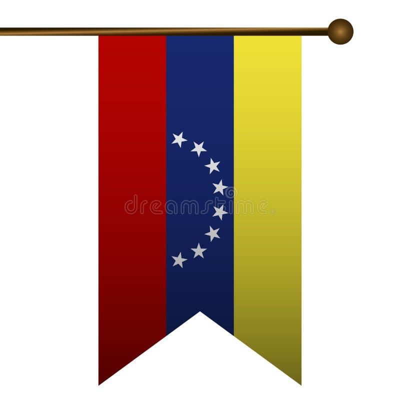 Ícone isolado da bandeira ilustração do vetor
