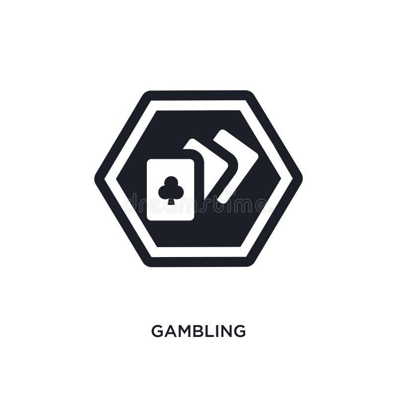ícone isolado de jogo ilustração simples do elemento dos ícones do conceito dos sinais projeto editável de jogo do símbolo do sin ilustração royalty free