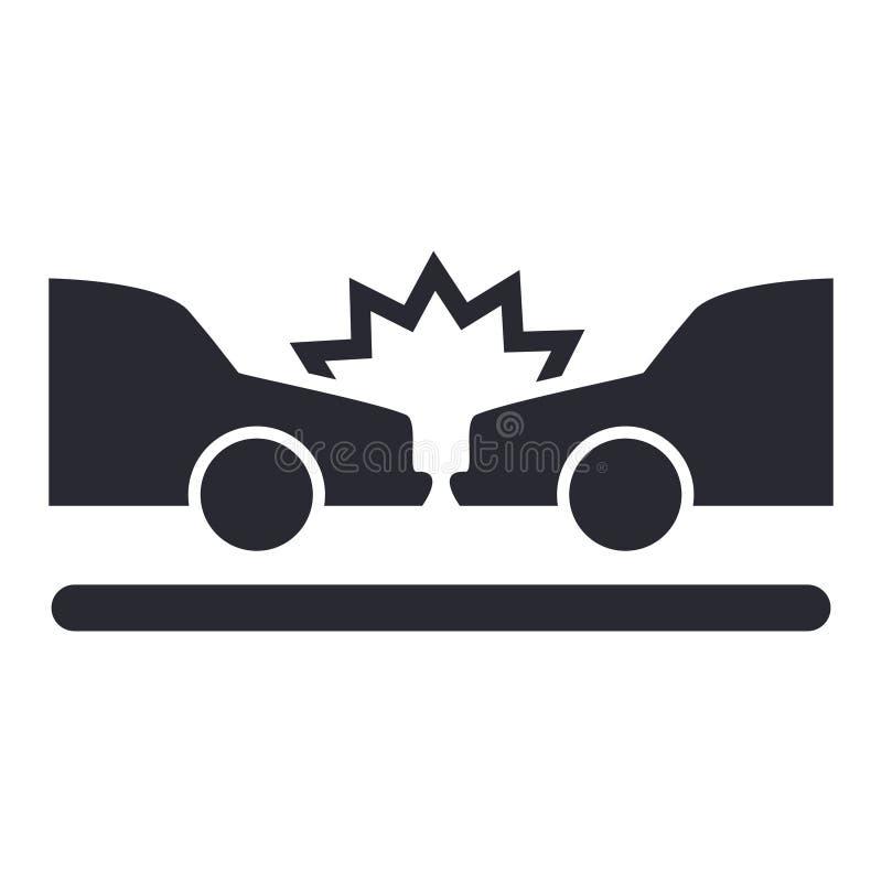 Ícone isolado do seguro. ilustração royalty free