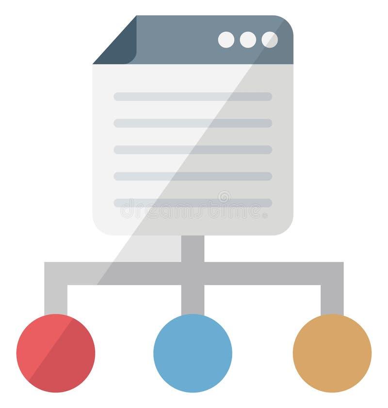 Ícone isolado isométrico do vetor das páginas da relação que pode facilmente ser alterado ou editado ilustração do vetor