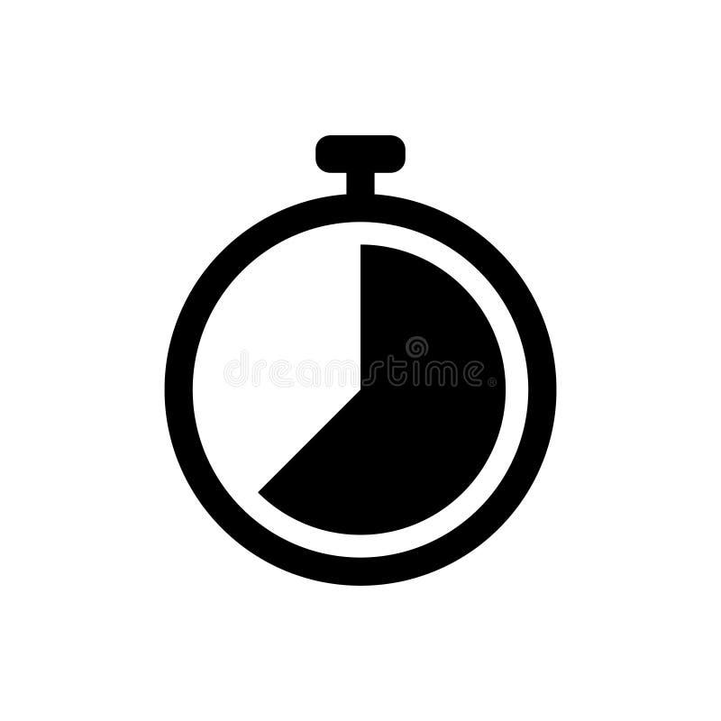 Ícone liso do vetor do pulso de disparo para o projeto gráfico, logotipo, site, meio social, app móvel, ilustração ilustração do vetor