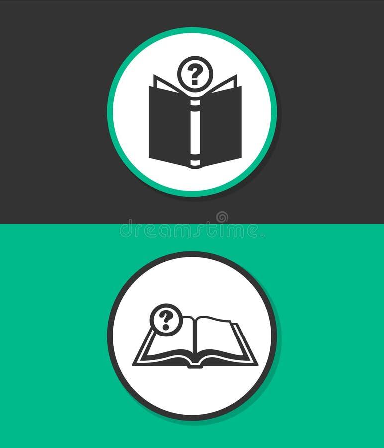 Ícone liso simples do vetor ilustração do vetor