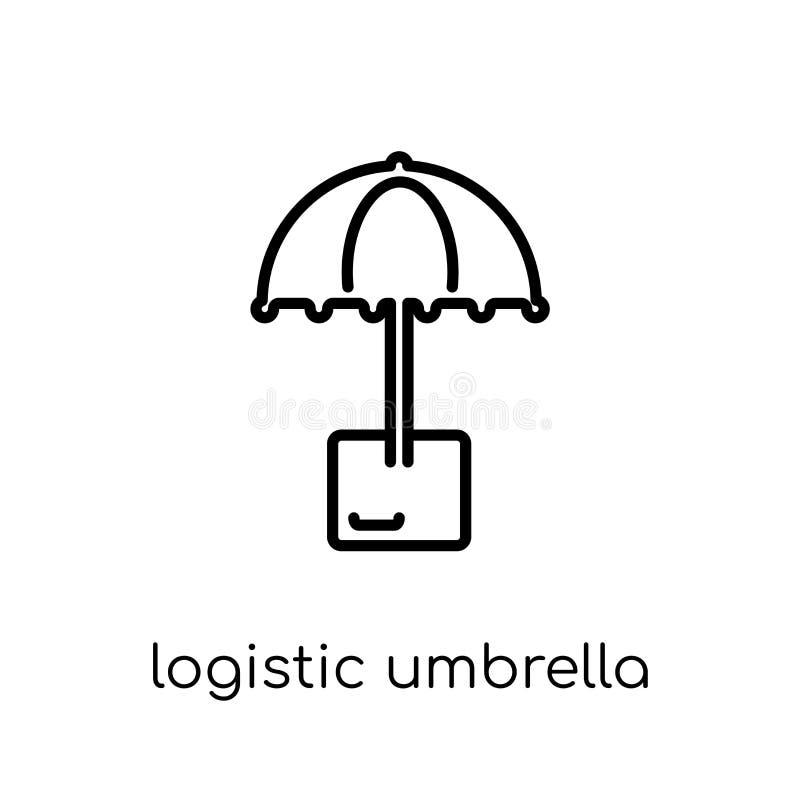 Ícone logístico do guarda-chuva  ilustração royalty free