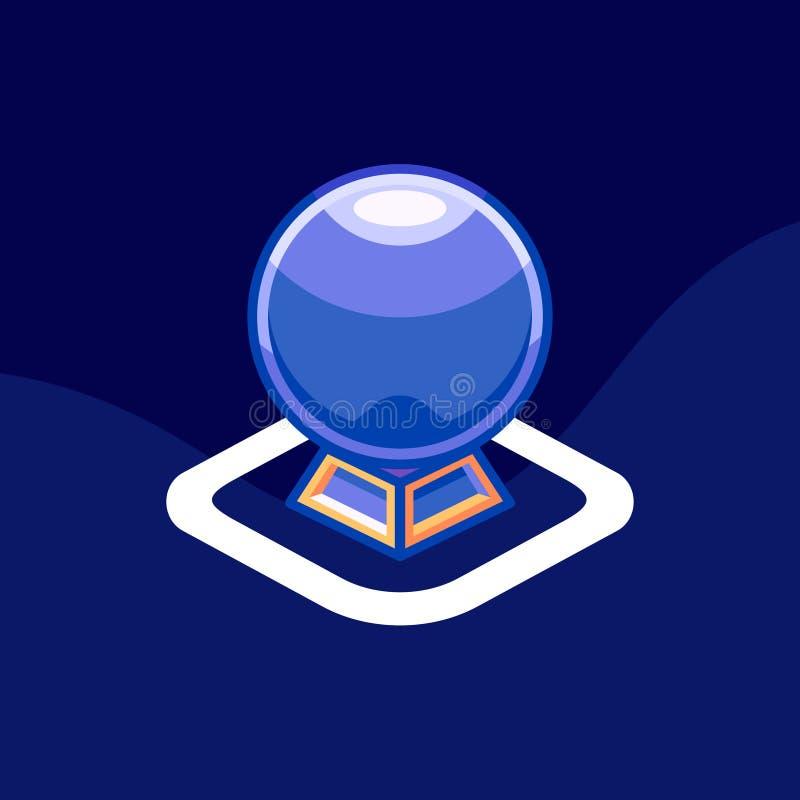 Ícone/logotipo do horóscopo Ilustração da arte ilustração stock