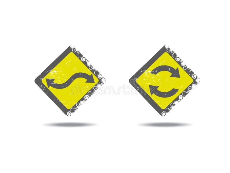 ícone lustroso do redemoinho ilustração do vetor