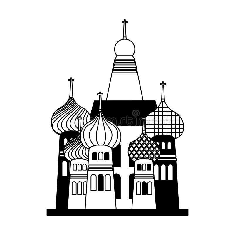ícone mahal ilustração royalty free