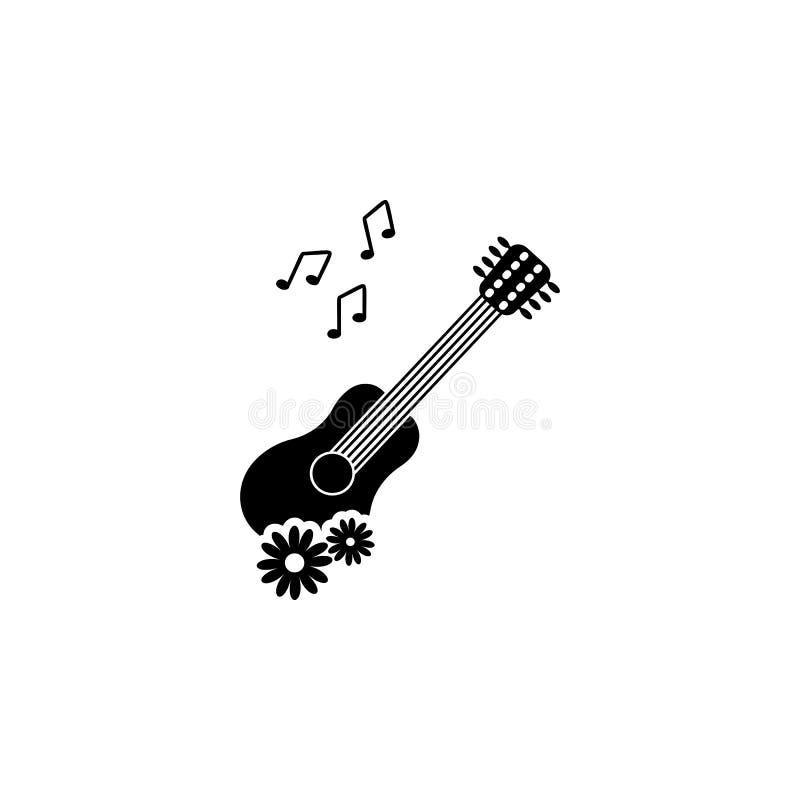 Ícone mexicano do guitarrone Elemento do ícone inoperante do dia para apps móveis do conceito e da Web O ícone mexicano detalhado ilustração do vetor