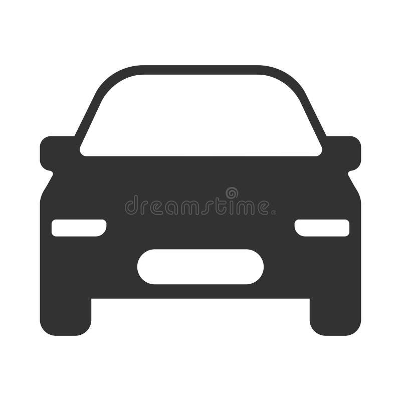 Ícone moderno do vetor do carro ilustração do vetor