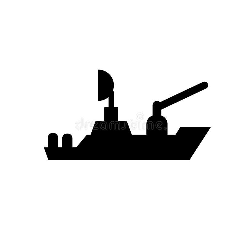 ícone naval  ilustração do vetor
