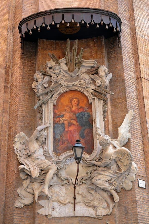 Ícone no Congregazione de canto Dell'Oratorio di San Filippo Ne fotos de stock