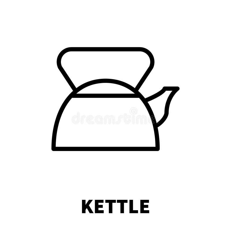 Ícone ou logotipo do velocímetro na linha estilo moderna ilustração stock