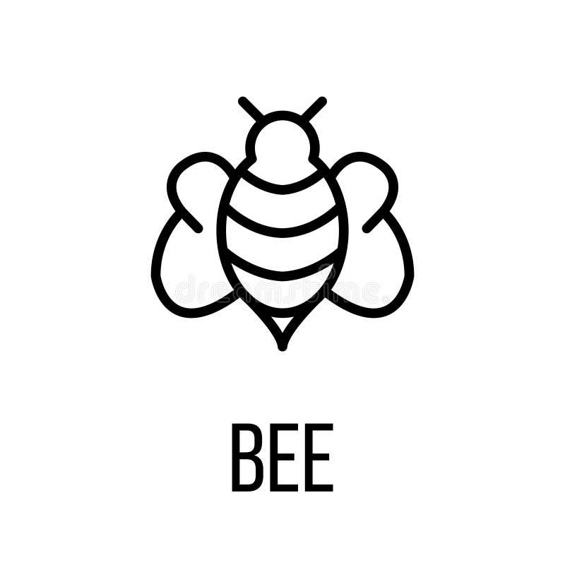 Ícone ou logotipo na linha estilo moderna ilustração do vetor