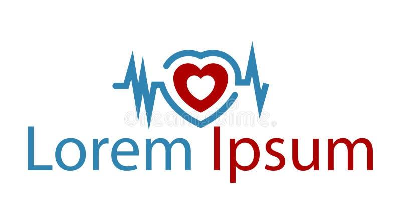 Ícone para pacientes de coração ilustração stock
