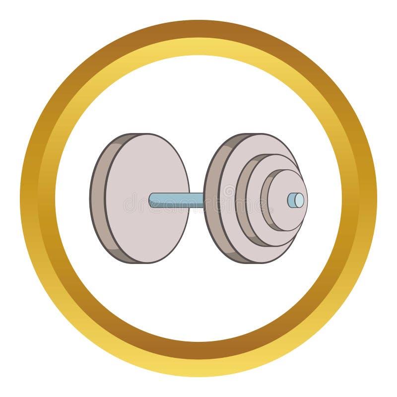 Ícone pesado do peso ilustração stock