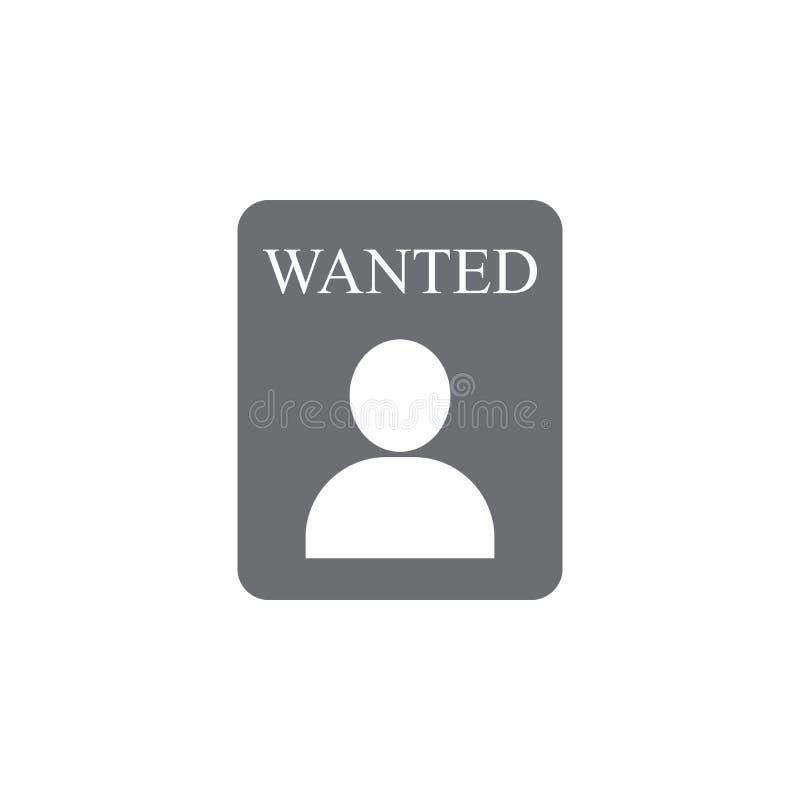 ícone querido da pessoa Ilustração simples do elemento molde querido do projeto do símbolo da pessoa Pode ser usado para a Web e  ilustração stock