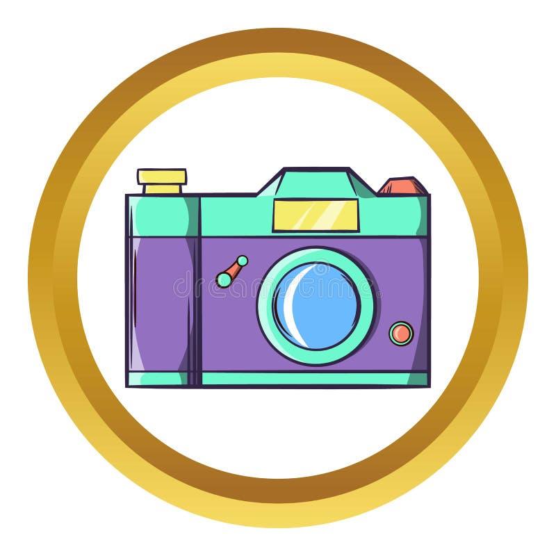 Ícone retro da câmera da foto do moderno ilustração do vetor