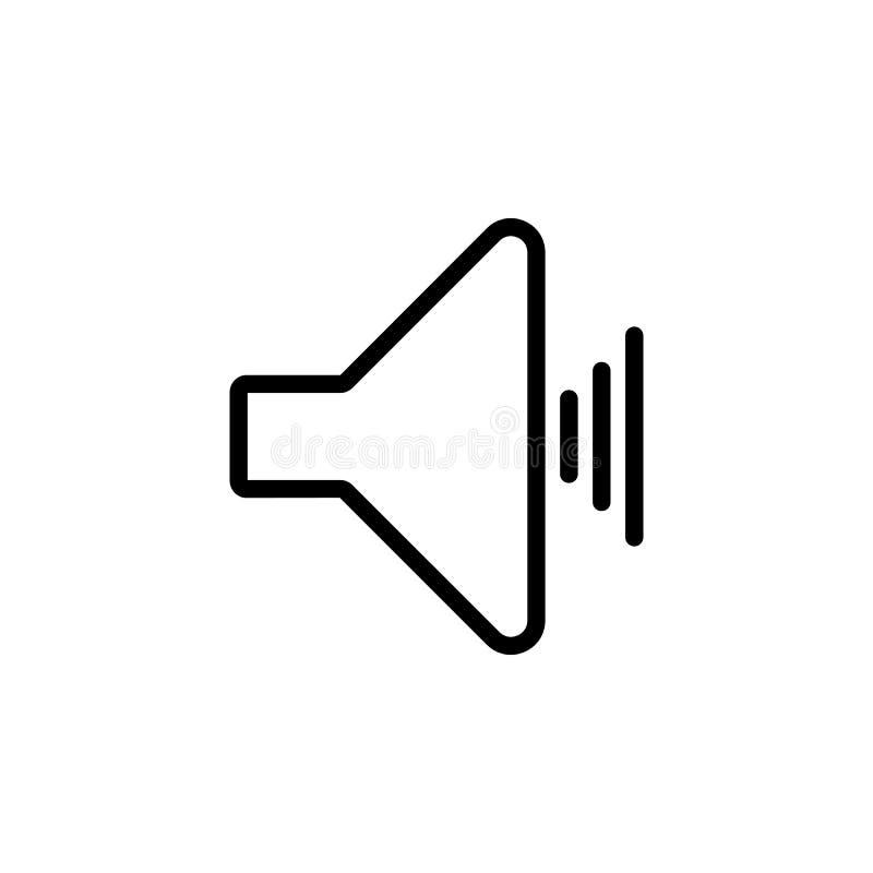 ícone sadio do sinal Elemento do ícone simples para Web site, design web, app móvel, gráficos da informação Linha grossa ícone pa ilustração royalty free