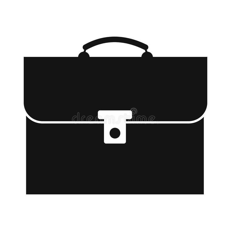 Ícone simples da pasta ilustração royalty free