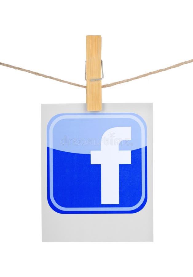 Ícone social popular dos meios fotos de stock royalty free