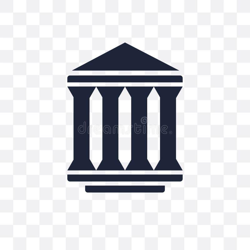 ícone transparente da agência federal projeto franco do símbolo da agência federal ilustração royalty free