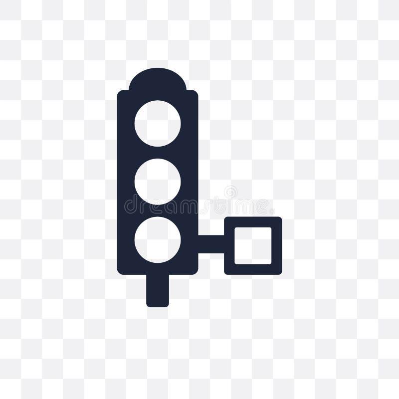 Ícone transparente dos sinais Projeto franco do símbolo dos sinais ilustração do vetor