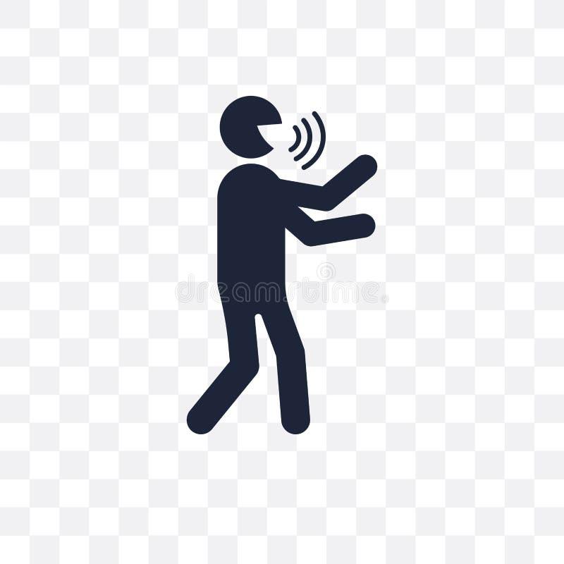 ícone transparente humano blá projeto humano blá do símbolo de Feeli ilustração royalty free