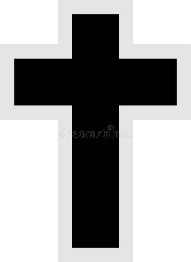 Ícone transversal ilustração royalty free