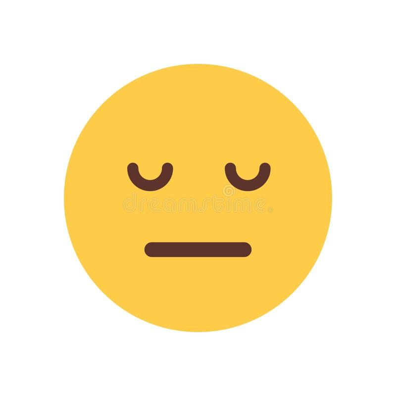 ícone Triste Da Emoção Dos Povos De Emoji Da Virada Da Cara