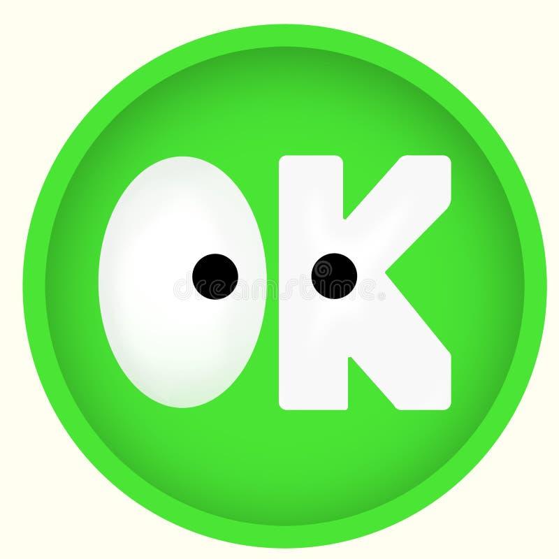 Ícone verde APROVADO do botão da roupa fotos de stock royalty free