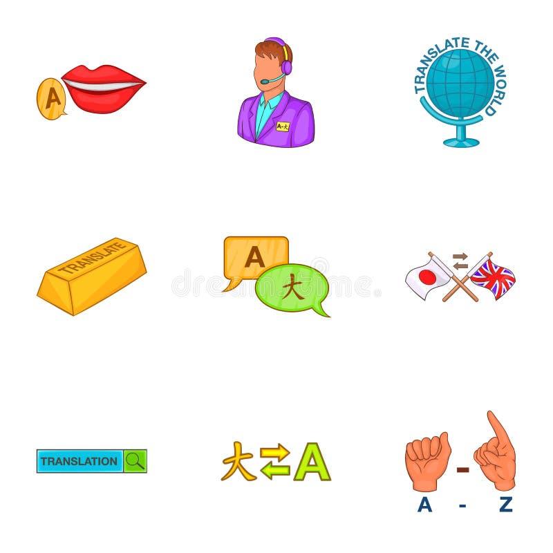 Download Ícones Ajustados, Estilo Da Língua Estrangeira Dos Desenhos Animados Ilustração do Vetor - Ilustração de instrução, extrangeiro: 80100767