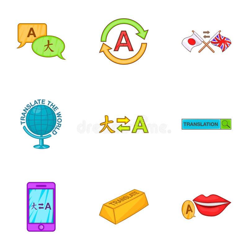 Download Ícones Ajustados, Estilo Da Tradução Dos Desenhos Animados Ilustração do Vetor - Ilustração de aprenda, multilingual: 80101341