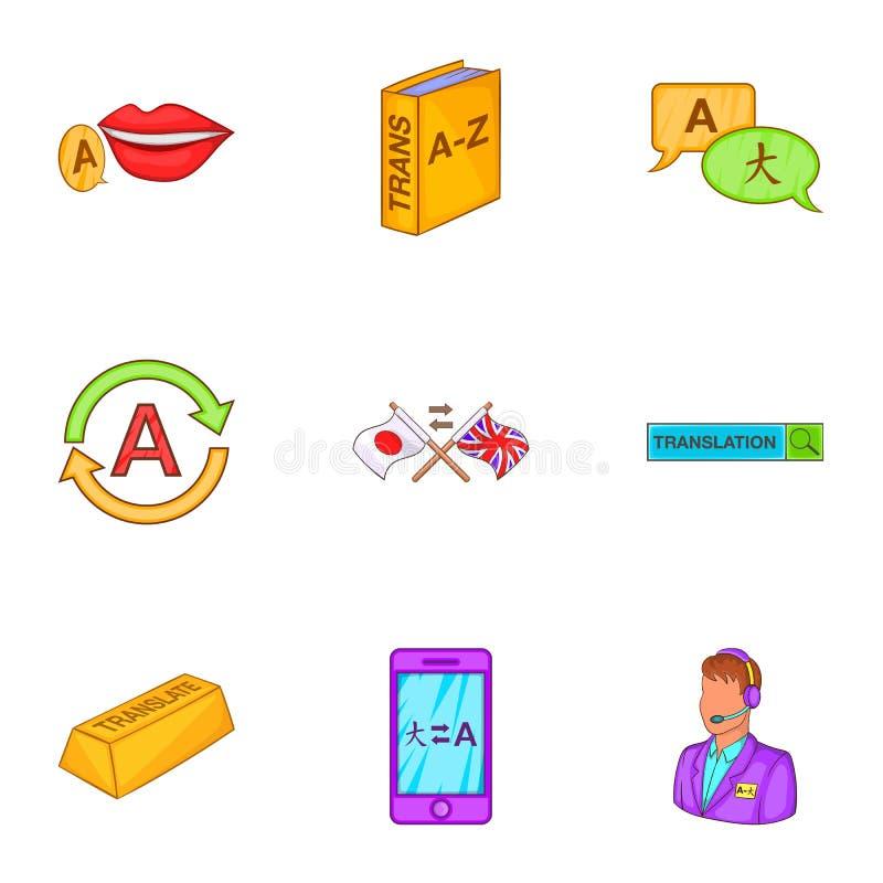 Download Ícones Ajustados, Estilo Do Aprendizado De Línguas Dos Desenhos Animados Ilustração do Vetor - Ilustração de ícone, intérprete: 80101199