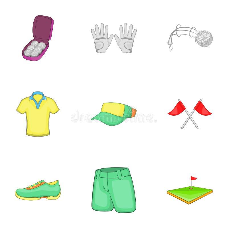 Download Ícones Ajustados, Estilo Do Golfe Do Treinamento Dos Desenhos Animados Ilustração do Vetor - Ilustração de desenhado, cartoon: 80101776