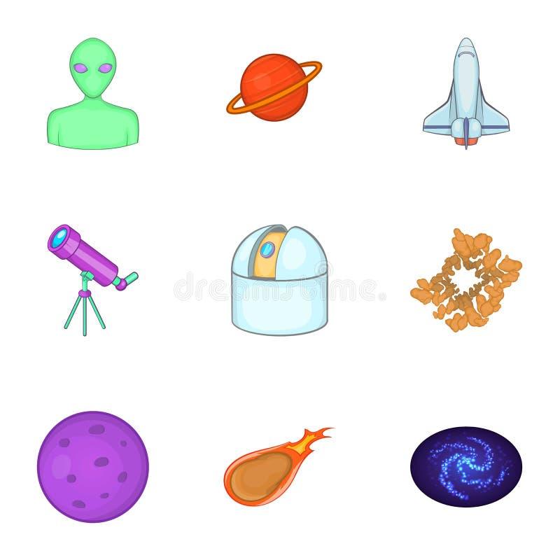 Download Ícones Ajustados, Estilo Do Universo Dos Desenhos Animados Ilustração do Vetor - Ilustração de astrology, galáxia: 80101088