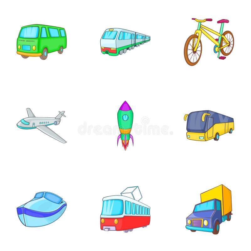Download Ícones Ajustados, Estilo Dos Serviços Do Transporte Dos Desenhos Animados Ilustração do Vetor - Ilustração de manufacturing, projeto: 80101017