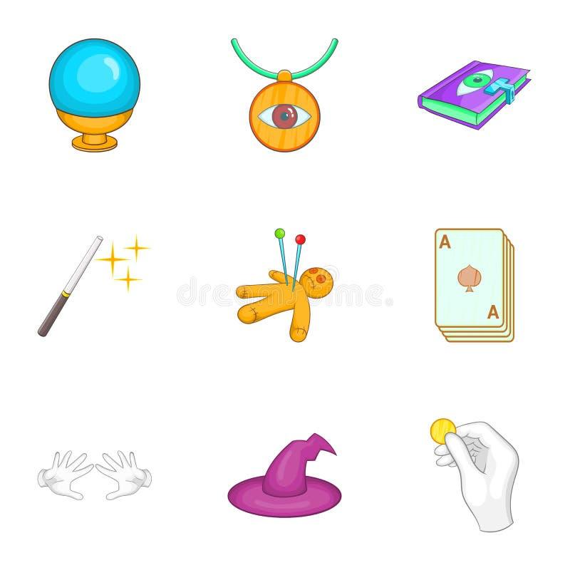 Download Ícones Ajustados, Estilo Dos Truques Dos Desenhos Animados Ilustração do Vetor - Ilustração de coleção, ícone: 80101138