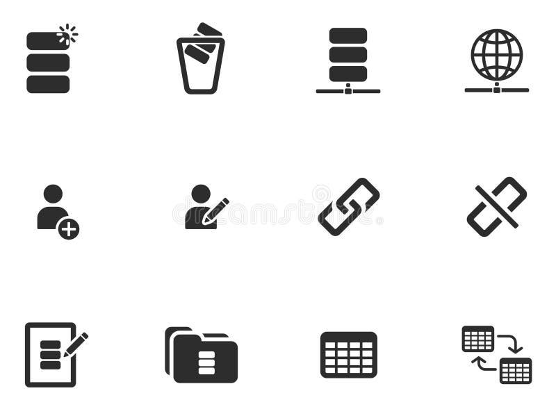 12 ícones da ferramenta da Web ilustração do vetor