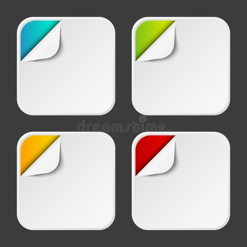 Ícones de Apps ilustração royalty free