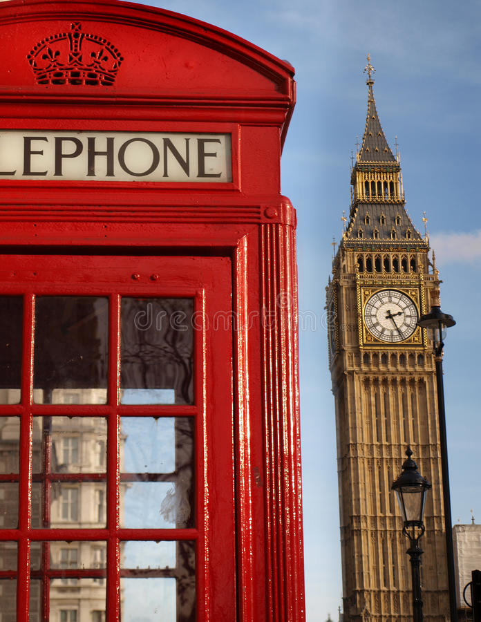 Ícones de Londres imagem de stock