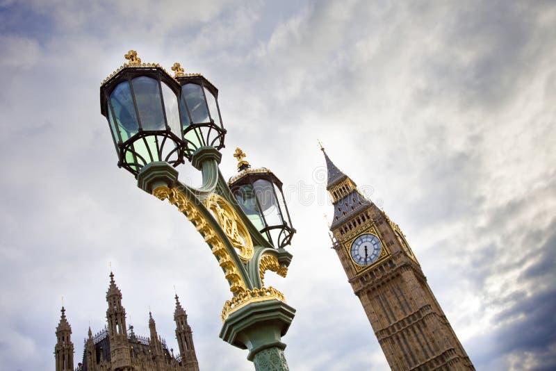 Ícones de Londres fotos de stock royalty free